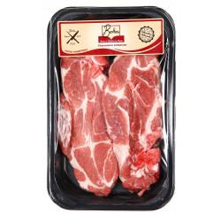 Cotes de porc (charnues) x2