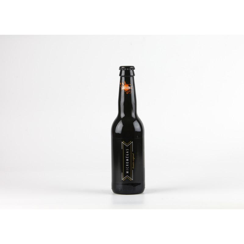 """Bière artisanale Micromégas """"Saison"""""""